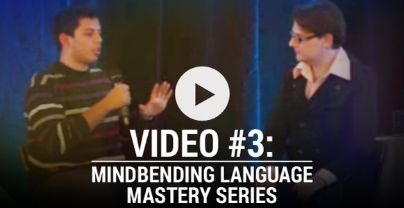 Video #3 Mind Bending Language Mastery: Asking Driving Questions To Reveal A Client's Motivation To Change