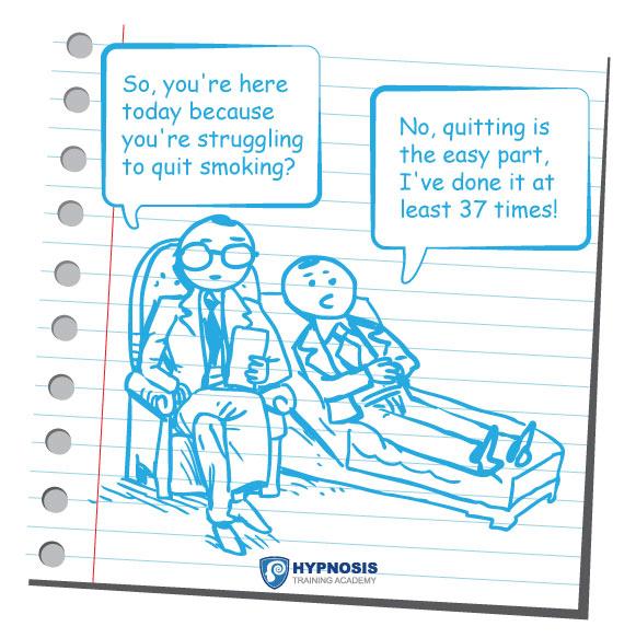 Smoking Cessation Hypnosis Comic
