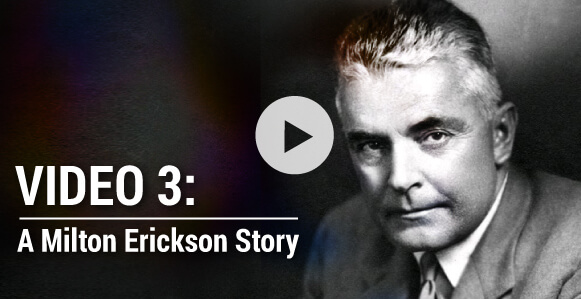 [VIDEO 3 of 3] Amusing Milton Erickson Story - How To Influence Your Daughter's New Boyfriend