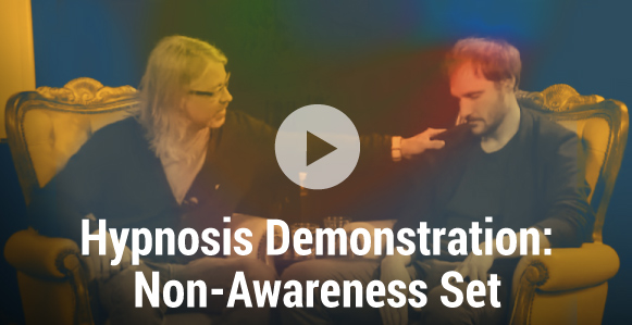 [VIDEO]: Master Hypnotist Steve Roehm Uses Milton Erickson's Non Awareness Set To Uncover The Unconscious Mind