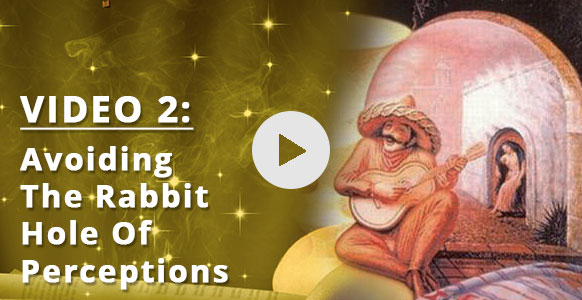 "[VIDEO 2 of 3] Stop… It's A Trap! How To Avoid The ""I'm Not Good Enough"" Rabbit Hole In Your Hypnosis Practice & Look Beyond Illusions"