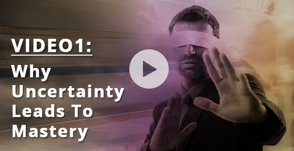 [VIDEO 1 of 3] Why Certainty Is For Amateurs & How The Ericksonian Approach Of Embracing The Unknown Is A Surefire Path To Hypnosis Mastery