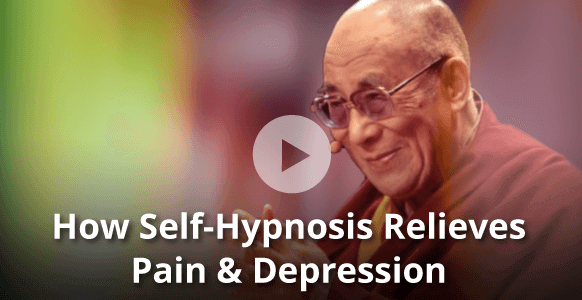 """How """"Feelings Lead To Healing"""" – Dr. David Spiegel Shares With The Dalai Lama How Self-Hypnosis Relieves Pain & Depression In Cancer Patients"""