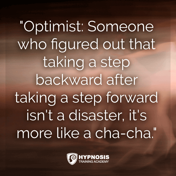 weight loss quote optimist