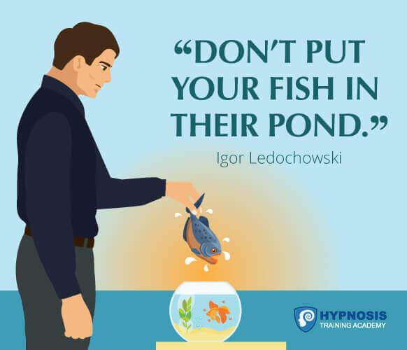 igor ledochowski quotes hypnotherapy