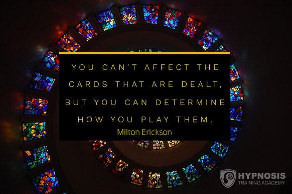 milton erickson quotes play dealing affect