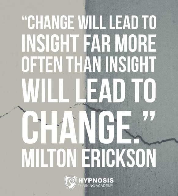 milton erickson quotes change insight